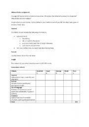Holes (Louis Sachar) informal letter assignment