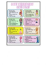 Role Play  ( Body Description/ 3 pages )