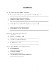 English Worksheets: Grammar parctice Exercises- conjunctions,adjectives,negatives,question formation