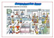English Worksheet: COMPREHENSION GAME