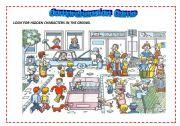 English Worksheets: COMPREHENSION GAME
