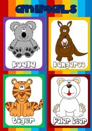 Animal flashcards (4)
