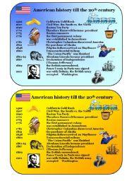 American history till 20th century