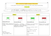 English Worksheet: WRITING part - IELTS - International English Language Testing System.