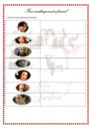 four weddings and a funeral part 1