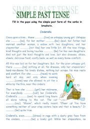 English Worksheet: PAST SIMPLE: GAPS & SONG