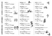 English Worksheets: QUESTIONS - SHORT ANSWERS