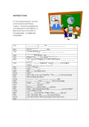 English Worksheets: Present