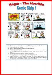 Hagar - Comic Strip 1