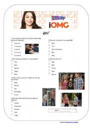 iCarly - iOMG - Quiz
