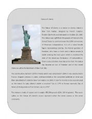 Wonder of the World 9 ( Statue of Liberty)