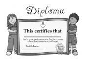 English Worksheets: Diplom