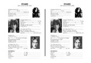 English Worksheet: IMAGINE JOHN LENNON