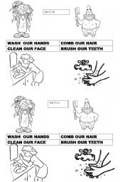 English Worksheets: This is the way matching activity