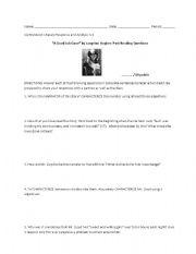 English worksheets: reading worksheets, page 104