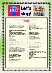 > Glee Series: Season 2! > Songs For Class! S02E13 *.* Three Songs *.* Fully Editable With Key! *.* Part 1/2