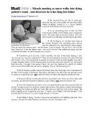 Reading Comprehension (for bac pupils)