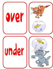 PREPOSITIONS- CARDS 1/2