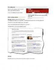 English Worksheet: Japan�s quake reading comprehension