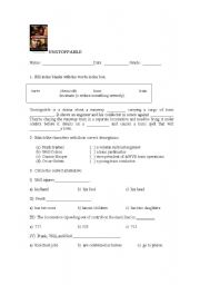 English Worksheets: Movie Activity : Unstoppable