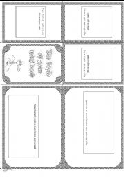 English Worksheets: Minibook template
