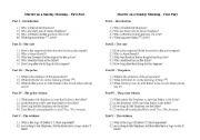 English Worksheets: Murder on a Sunday Morning - Part I