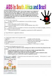 English Worksheets: AIDS