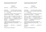English Worksheets: Description - Is/Are Activity