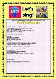 > Glee Series: Season 2! > SONGS FOR CLASS! S02E14 *.* FOUR SONGS *.* FULLY EDITABLE WITH KEY!