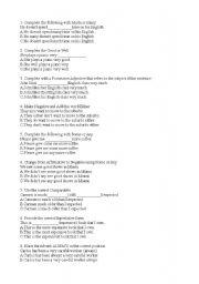 general english placement test pdf