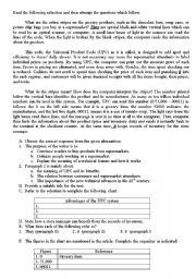 English Worksheets: Zeebra Stripes