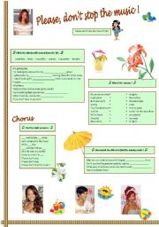English Worksheets: Rihanna,