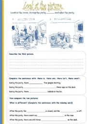 English Worksheets: Look at the picture 2