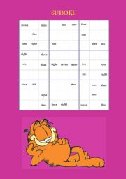 Sudoku with written numbers
