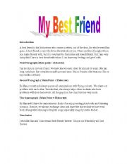 Start early and write several drafts about Best friend essay writing
