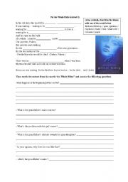 English Worksheet: The Whale Rider extract 1