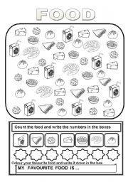 Food Worksheets For Preschoolers | Food