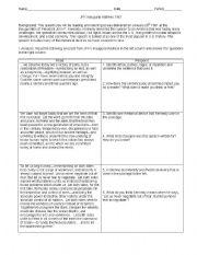 John F Kennedy S Inaugural Address Questions Esl Worksheet By Ldiaconis