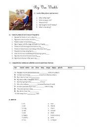 English Worksheets: Rip Van Winkle