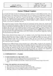 English Worksheet: Baccalaureate Exam Morocco