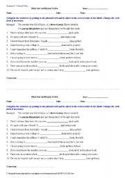 Mini - tests on phrasal verbs