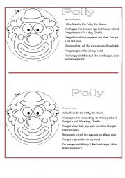 English Worksheets: POLLY