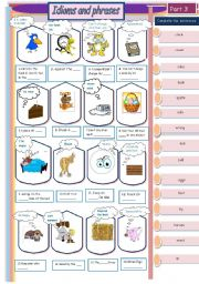 Idioms  and phrases- part    3/ 6