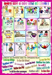 English Worksheet: SHE�S GOT A CAT AND SO HAVE I  (SO DO I / NEITHER DO I)