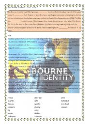 English Worksheets: The Bourne Identity (film)