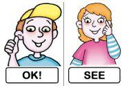 English Worksheet: CLASSROOM LANGUAGE IMPROVED!!
