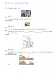 English Worksheet: What Have the Romans Ever Done For Us? (2)