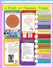 English Worksheet: The Father´s Day Present page 1