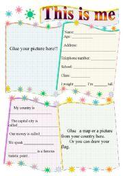 Personal information worksheets english worksheet personal information ibookread ePUb