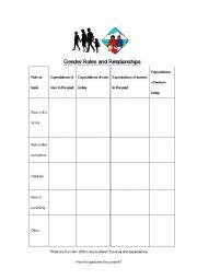 english worksheets family roles worksheets page 2. Black Bedroom Furniture Sets. Home Design Ideas